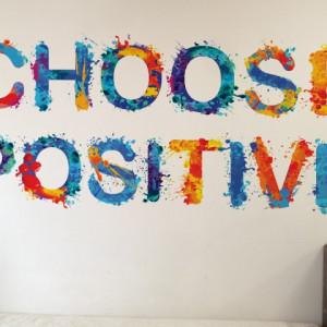 Sticker De Perete Choose Positive
