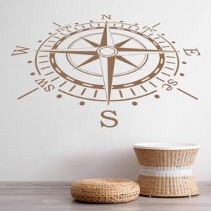 Sticker De Perete Compass Navigation