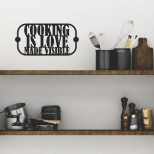 Sticker De Perete Cooking Is Love Made Visible