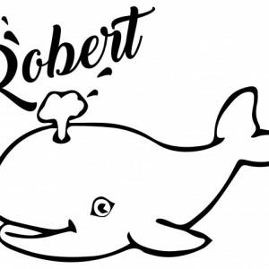 Sticker De Perete Cu Nume - Robert