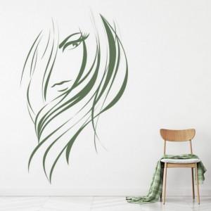 Sticker de Perete Hairdressers Hair Salon