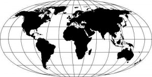 Sticker De Perete Harta Lumii 3