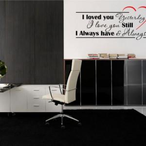 Sticker De Perete I Love You