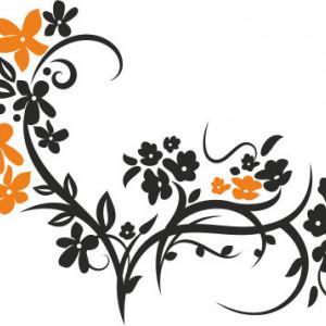 Sticker De Perete Ornament De Vara