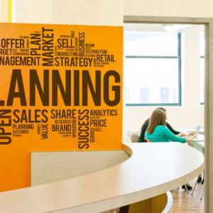 Sticker De Perete Planning