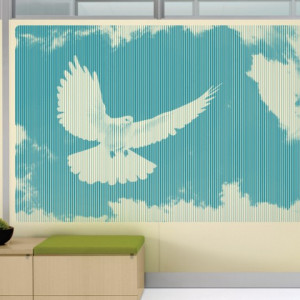 Sticker De Perete Porumbelul Pacii