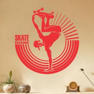 Sticker de Perete Skater