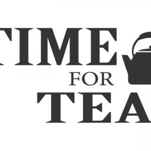 Sticker De Perete Time For Tea