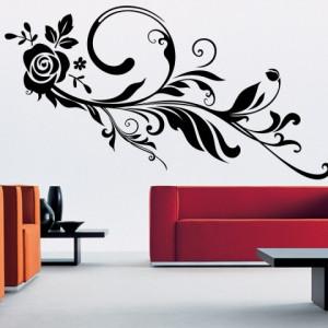 Sticker De Perete Trandafir Cometa