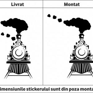 Sticker De Perete Trenulet