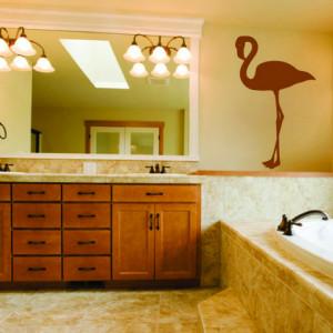 Sticker Decorativ pentru Perete Flamingo