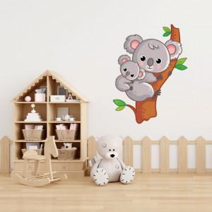 Sticker Koala cu pui