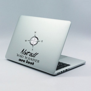 Sticker laptop - Not lost