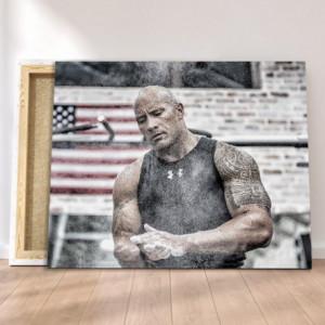 Tablou Canvas - Dwayne Johnson