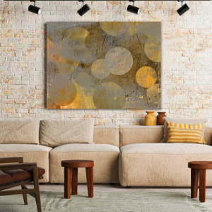 Tablou Canvas Glowing Globes