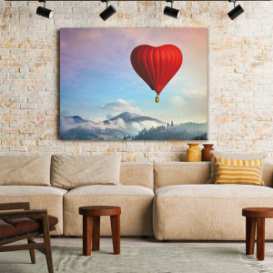 Tablou Canvas Love Baloon
