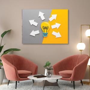 Tablou office - Share the idea