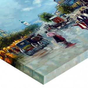 Tabloul Canvas Efect Pictura La Promenada