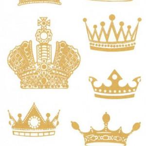 Tatuaj temporar -coroane- 17x10cm