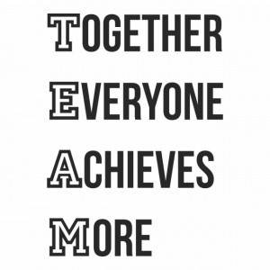 TEAM Achieves More