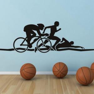 Triathlon Run Swim Cycle