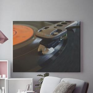 Vinyl close-up