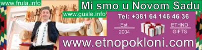 FRULE - GUSLE - NOŠNJE - www.frula.info