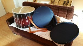 Slika Tapan - STANDARDNI / Traditional STANDARD Tapan - double sided drum