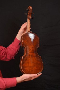 Violin, handmade - (4/4) - 180 years old images