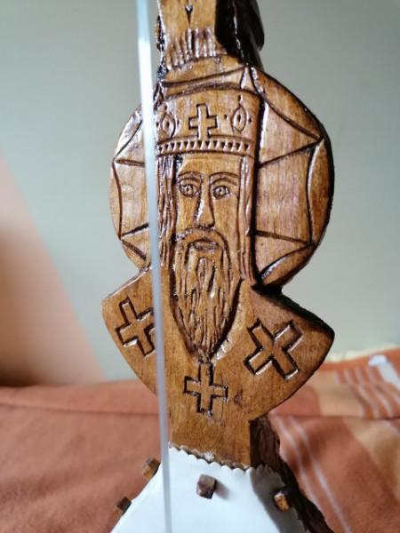 "Gusle Orao - Motivi: 4 ""S"" ocila, Sveti Vasilije Ostroški i Manastir Ostrog - (TD16-72)"