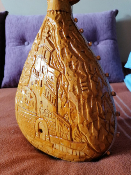 Gusle M-1389 - Orao - Motivi: Sv. Vasilije Ostroški i OSTROG
