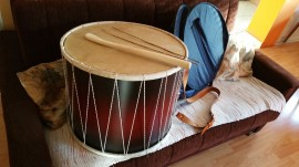Tapan - STANDARDNI / Traditional STANDARD Tapan - double sided drum