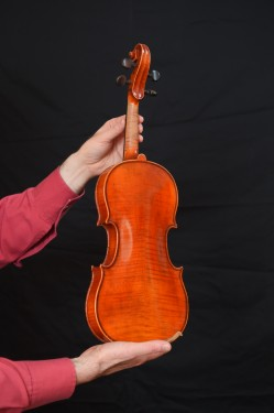 Violin for children, handmade - (3/4) - 35-40 years old images