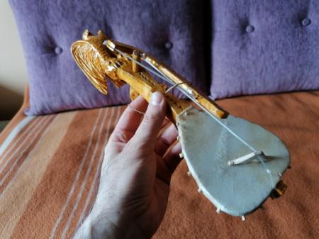 SUVENIR - Guslice - svetlije - dužina 30 cm - Motiv Njegoš