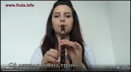 """Naučite da svirate """"OJ LIVADO ROSNA TRAVO"""" - VIDEO LEKCIJA za frulu"""