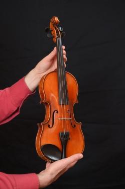 Violin for children, handmade - (1/4) - 30 years old