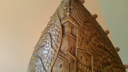Gusle PROFESIONALNE - KOZOROG - Motiv: Manastir Ostrog (Model G0ST-369) images