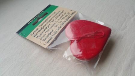 Suvenir - Licidersko srce, 5x5cm - UPAKOVANO