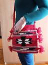 Manja torba na rame Model TMA1 - Ručno tkana - 25x25cm