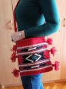 Manja torba na rame Model TMA2 - Ručno tkana - 25x25cm