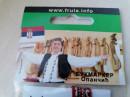 Opančić Bukmarker - dužine 4cm - UPAKOVANO - (i sa engleskim tekstom)