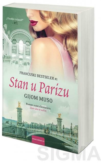 Knjiga Stan u Parizu - Gijom Muso  Knjizara Sigma  Prodaja knjiga online