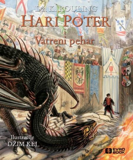 Hari Poter i vatreni pehar – ilustrovano - Dž. K. Rouling