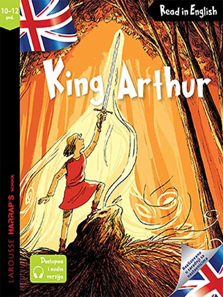 Slika King Arthur - Read in English