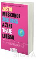 Zašto muškarci žele seks a žene traže ljubav - Alan Piz i Barbara Piz