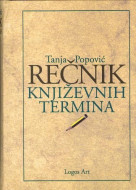 Rečnik književnih termina - Tanja Popović