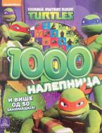 Nindža kornjače - 1000 nalepnica
