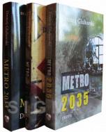 Komplet Metro 1-3 - Dmitrij Gluhovski