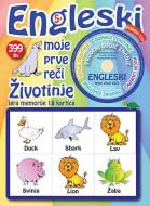 5+: ENGLESKI moje prve reči - životinje + CD igralica
