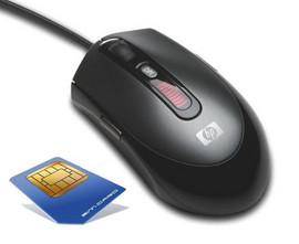 Slika GSM buba prisluskivač ugrađena u miša